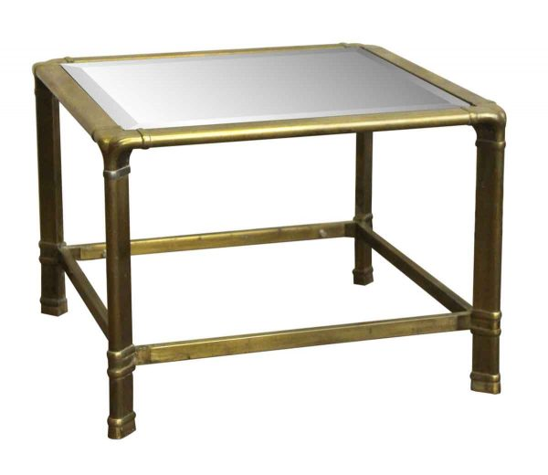 Living Room - 1970s Brass End Table