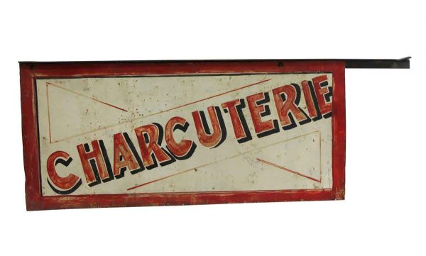 Vintage Signs - Distressed Charcuterie Double Sided Sign