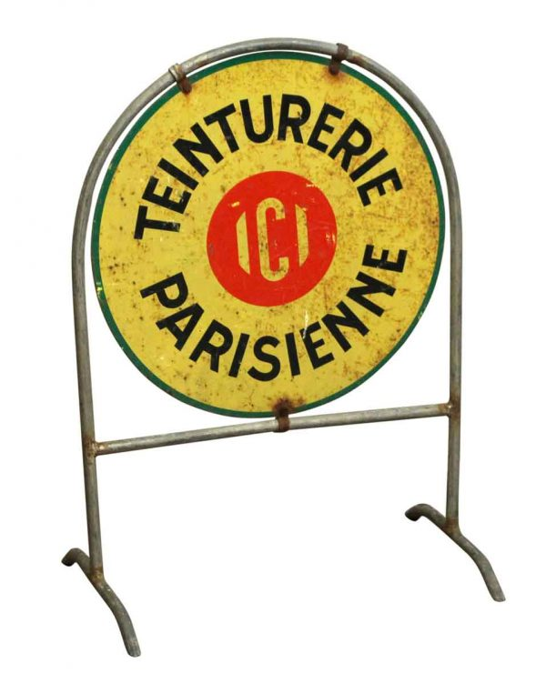 Vintage Signs - Teinturerie Parisienne Sign