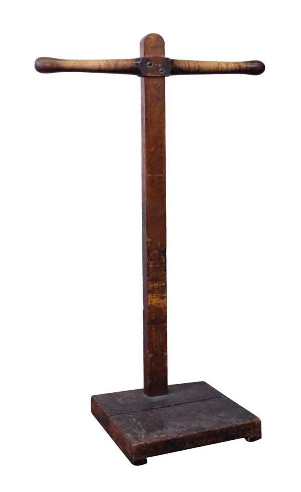 Commercial Furniture - NY Tailor Shop Maple T Rack