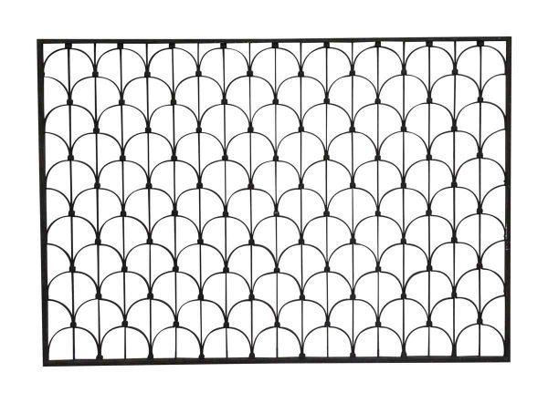 Decorative Metal - Art Deco Style Wrought Iron Transom