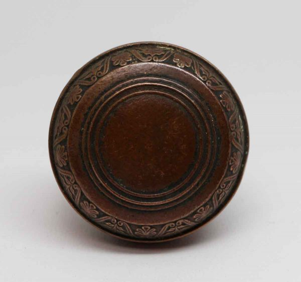 Door Knobs - Antique Bronze Union Central Life Insurance Door Knob Set