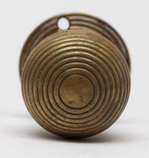 Door Knobs - Antique Concentric Door Knob with Rosette