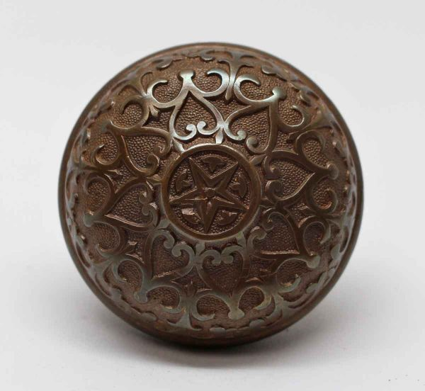 Door Knobs - Bronze Mallory Wheeler Star Entry Door Knob