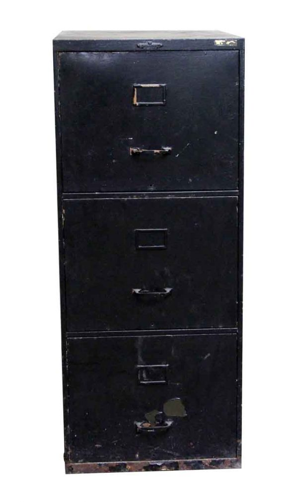Office Furniture - Remington Rand Standard Metal File Cabinet