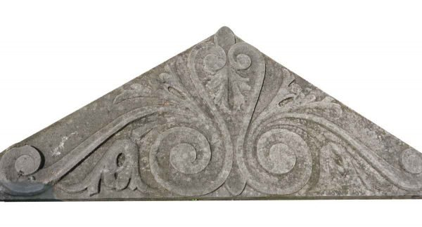 Pediments - Carved Limestone Pediment