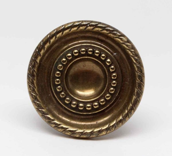 Waldorf Astoria - Concentric Brass Drawer Knob from The Waldorf Astoria