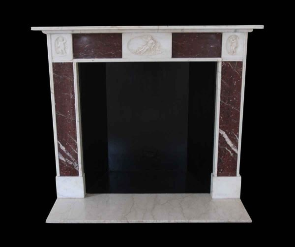 Waldorf Astoria - Waldorf Astoria Early 19th Century English Regency Marble Mantel