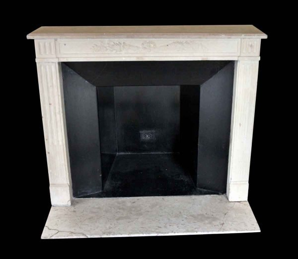 Waldorf Astoria - Waldorf Astoria French Regency Carved Limestone Mantel