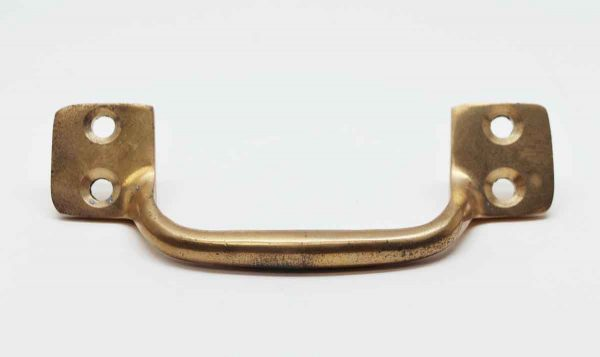 Cabinet & Furniture Pulls - Old New Stock Brass Drawer or Window Pull