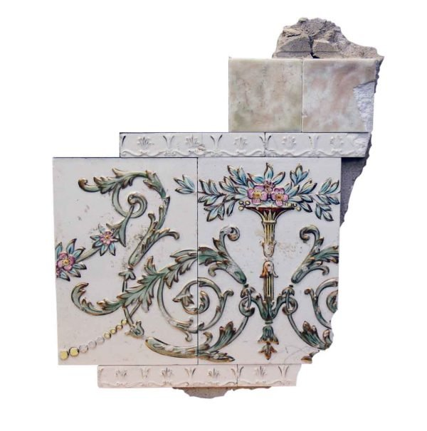 Collectors Tiles - Tile Fragment from the Sterling Hotel
