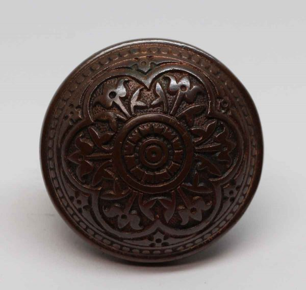 Door Knobs - 6 Fold Bronze Vernacular Corbin Door Knob