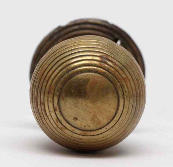 Door Knobs - Brass Vintage Fixed Door Knob Pull with Rosette