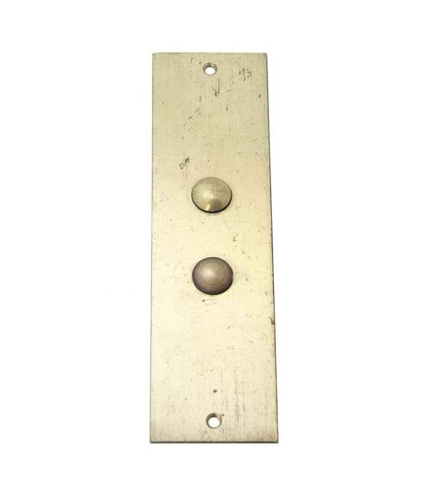 Elevator Hardware - Mid To Late 1900s Elevator Plate