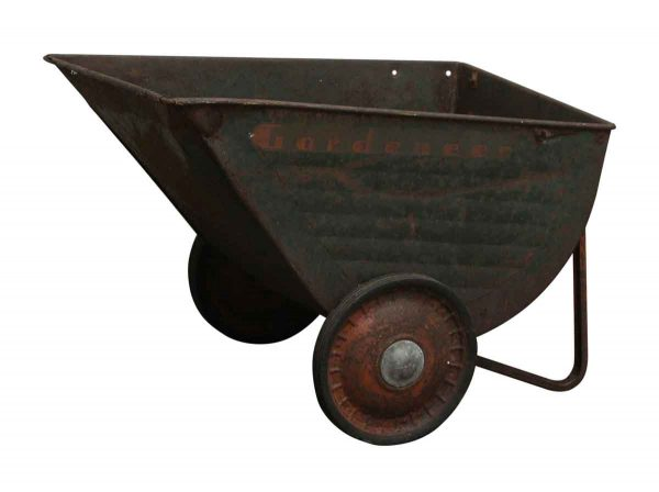 Industrial - Part of a Metal Wheelbarrow