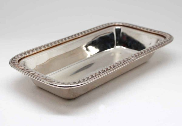 Waldorf Astoria - Silver Plated Waldorf Tong or Candy Dish