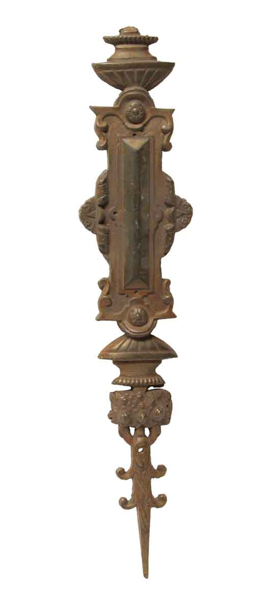 Applique - Large Bronze Antique Applique