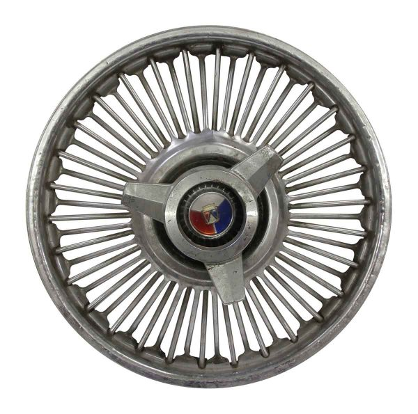 Car Fronts & Parts - Vintage Ford Hubcap with Spinner
