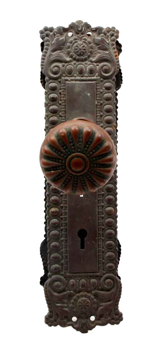 Door Knob Sets - Bronze Normandie Door Knob Set