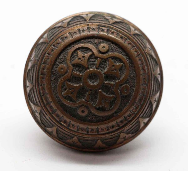 Door Knobs - Bronze 4 Fold Vernacular Norwalk Door Knob