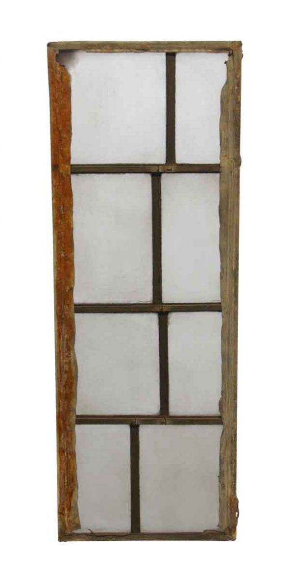 Exclusive Glass - Robert Sowers Modern Art White Leaded JFK Glass Window