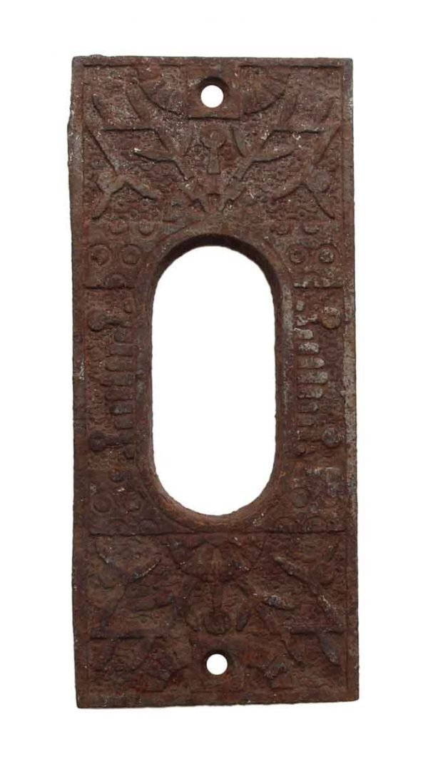 Pocket Door Hardware - Cast Iron Pocket Door Plate