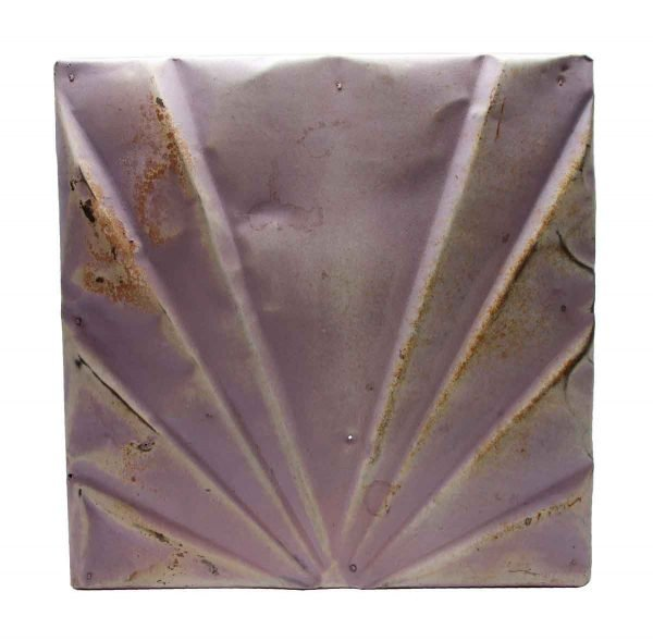 Tin Panels - Lilac Art Deco Tin Panel