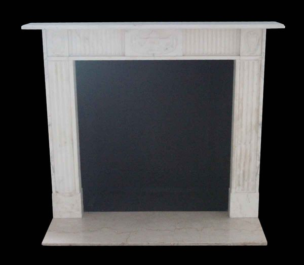 Waldorf Astoria - Waldorf Astoria Petite Georgian Carrara Marble Mantel