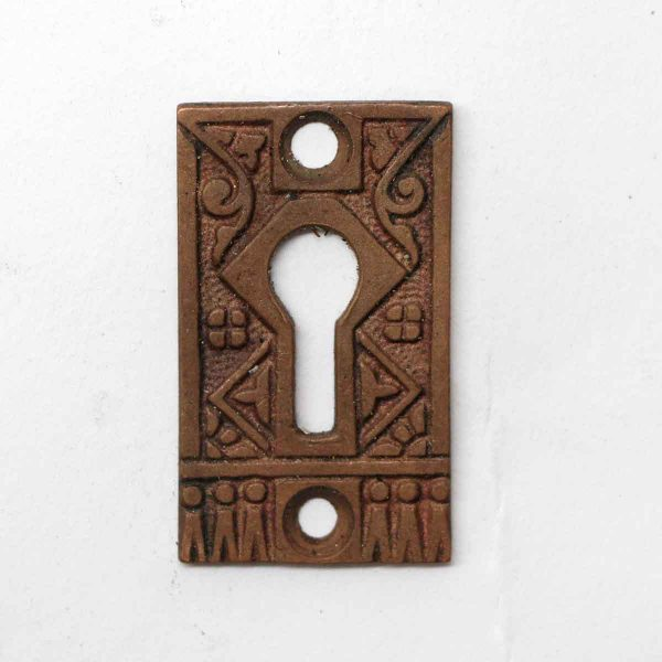 Keyhole Covers - Aesthetic Design Bronze Keyhole Plate