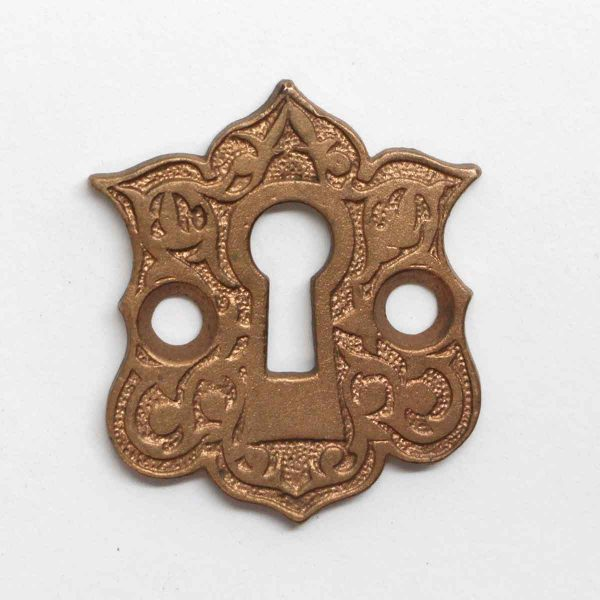 Keyhole Covers - Antique Bronze Aesthetic Keyhole Plate
