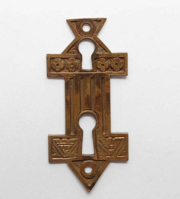 Keyhole Covers - Bronze Keyhole with Aesthetic Details