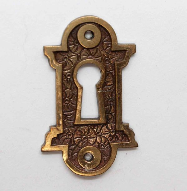 Keyhole Covers - Cast Brass Aesthetic Antique Keyhole Plate