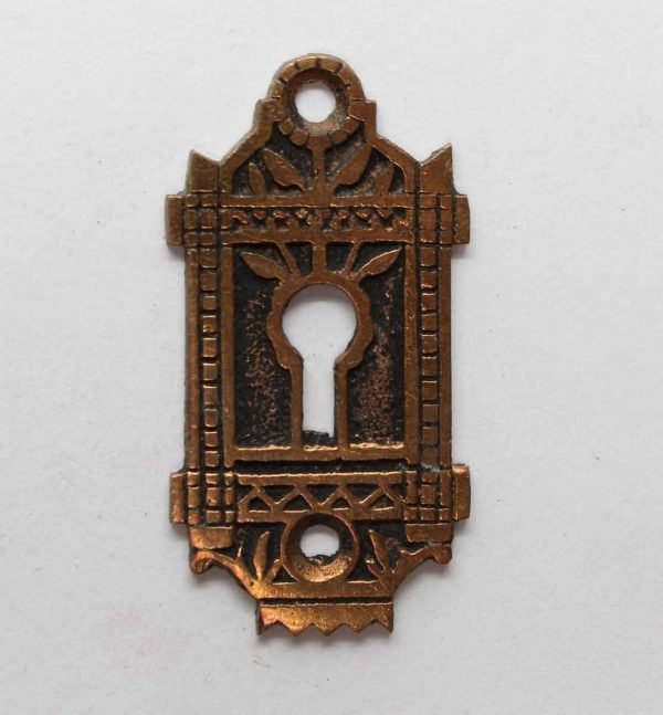 Keyhole Covers - Highly Aesthetic Cast Bronze Keyhole Plate