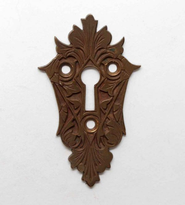 Keyhole Covers - Victorian Bronze Highly Ornate Keyhole