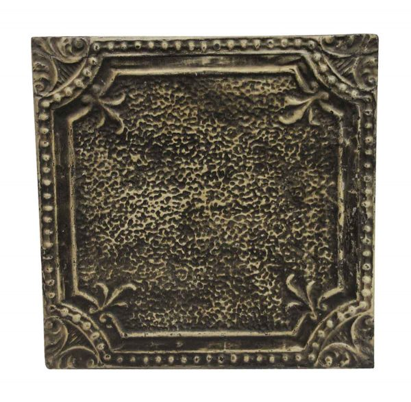 Tin Panels - Black & Tan Antique Tin Panel