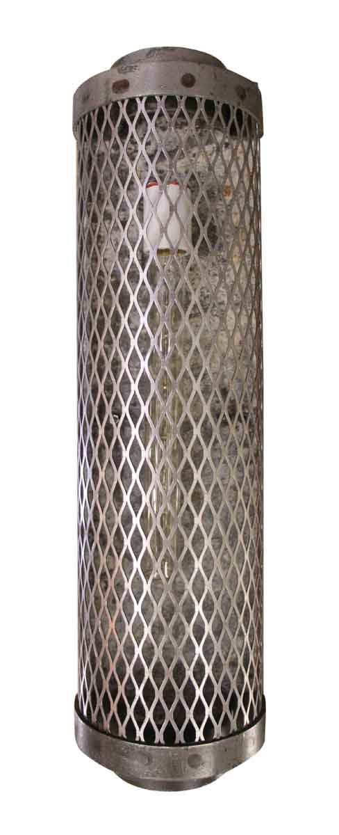 Industrial & Commercial - Industrial Steel Cage Sconce