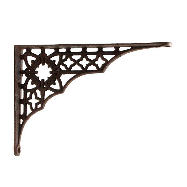 Shelf & Sign Brackets - Small Single Cast Iron Bracket
