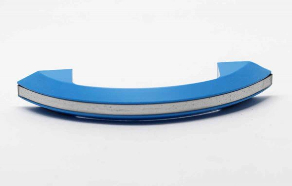 Cabinet & Furniture Pulls - Blue Plastic Deco Drawer Pull
