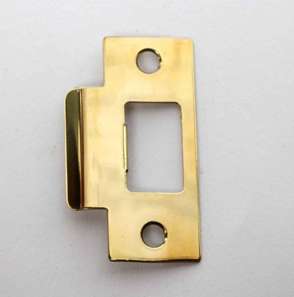Door Locks - Vintage Brass Strike Plate
