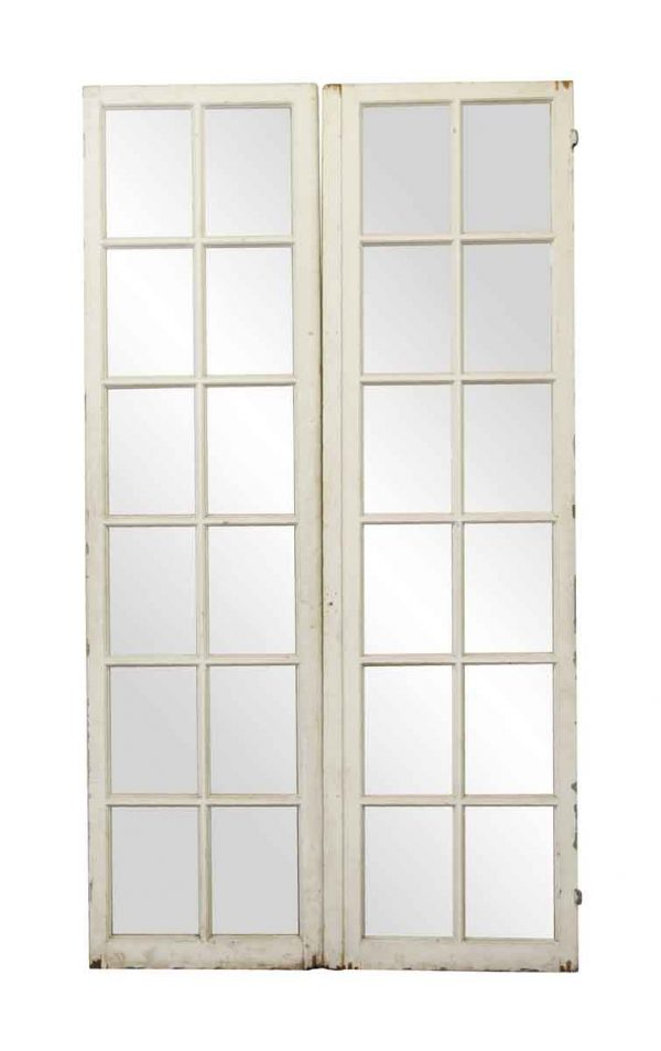 French Doors - Salvaged Extra Tall French Doors