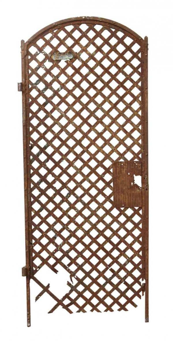 Gates - Restorable Arched Iron Gate