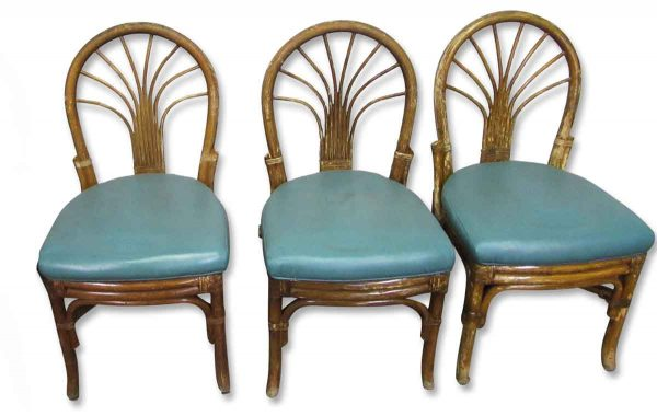 Kitchen & Dining - Bamboo Bentwood Chair Set