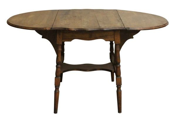 Kitchen & Dining - Vintage Wooden Drop Leaf Table