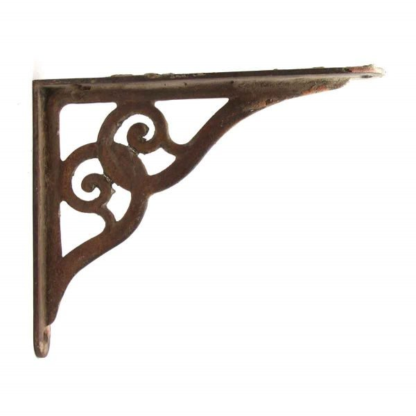 Shelf & Sign Brackets - Single Iron Antique Bracket