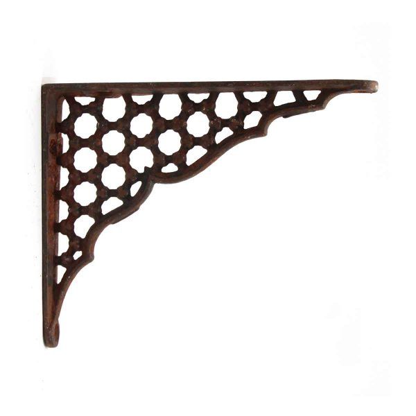 Shelf & Sign Brackets - Small Cast Iron Antique Shelf Bracket