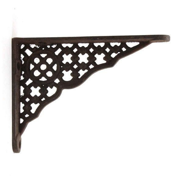 Shelf & Sign Brackets - Tiny Antique Iron Bracket