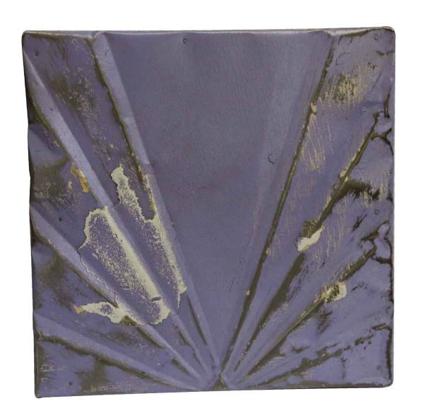 Tin Panels - Purple Deco Antique Tin Panel
