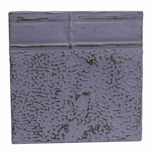 Tin Panels - Textured Purple Antique Tin panel