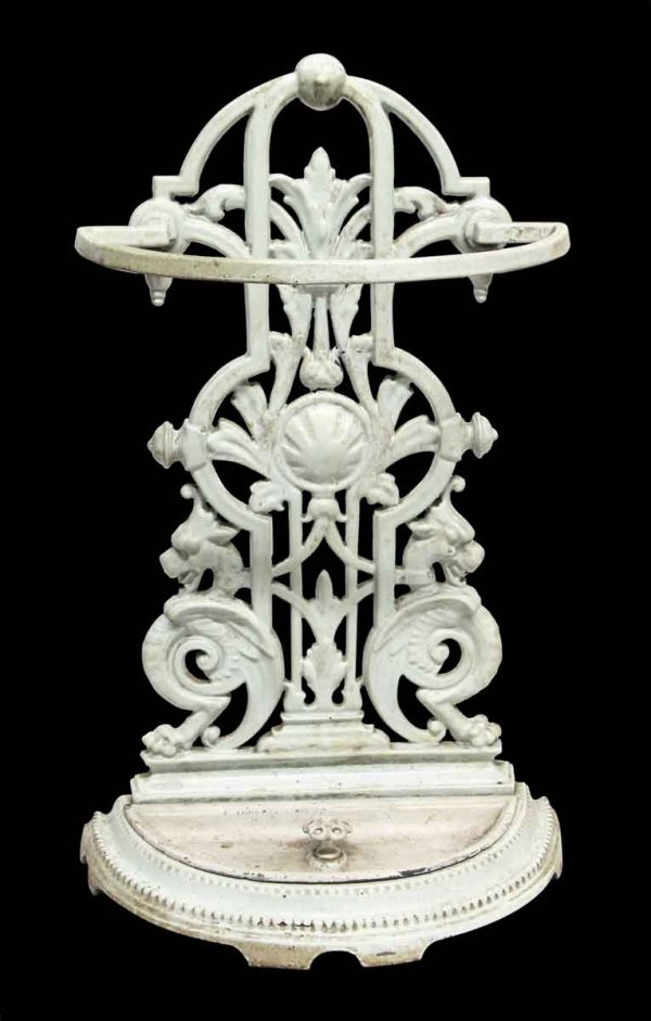 Umbrella Holders - Light Green Gryphon Cast Iron Umbrella Stand
