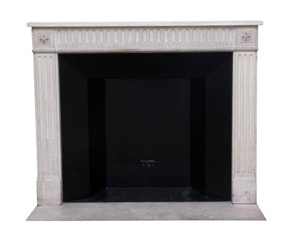 Waldorf Astoria - Waldorf Astoria French Carved Tan Limestone Mantel